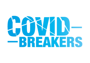 Logo Covid Breakers Campaign Blue