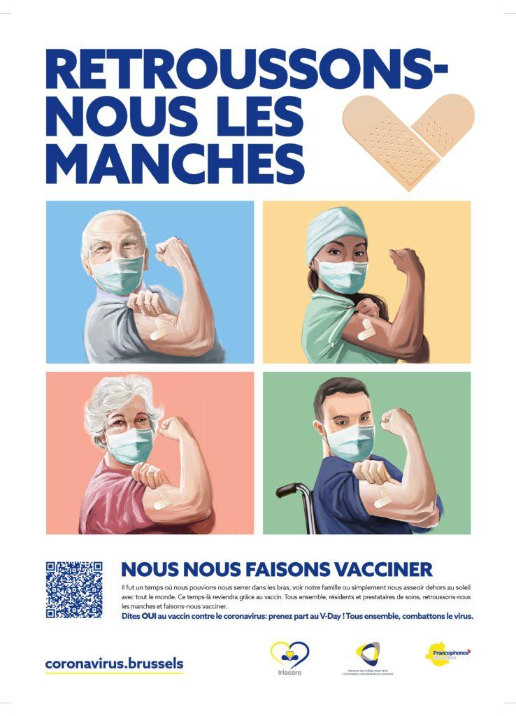 retroussons-nous les manches : nous nous faisons vacciner
