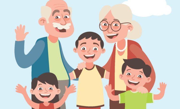 tekeningen voor groot-ouders