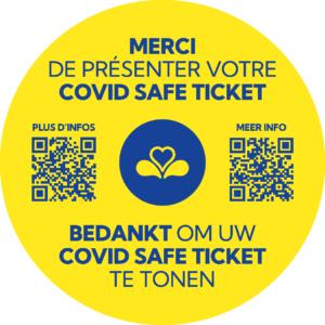 QR Code Covid Safe Ticket
