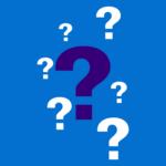 Link naar FAQ - foto geeft vraagtekens weer