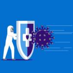 Link naar 'Vaccinatie afspraak maken' - foto geeft schil weer dat beschermt tegen virussen